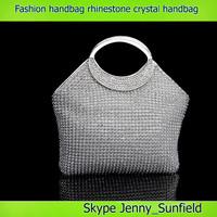 Fashion bags bling bling rhinestone evening crystal handbag women