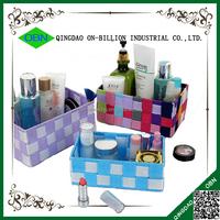 Small size storage plastic woven nylon baskets