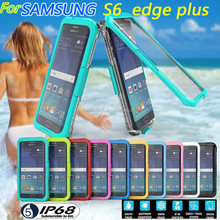 Latest product waterproof case for samsung galaxy s6 edge plus, for galaxy s6edge plus waterproof case