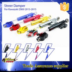Motorcycle CNC part anodized steering damper for kawasaki z800