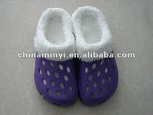 2012 Best Selling Winter Clogs Woman Shoe
