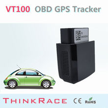 Low-cost sales Diagnostic tracking system OBD VT100 with sim card by Thinkrace OBD2 vehicle gps tracker
