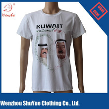 95 cotton 5 lycra muscle fit t shirt printed, stretch cotton t shirt ,t shirt custom