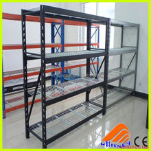 designed iron storage rack,self supporting shelves,industrial 5 tier garage shelving storage