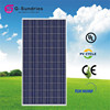 Various styles 5w to 280w 12v or 24v solar panels factory direct
