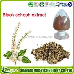 high quality black cohosh powder / black cohosh powder extract/ black cohosh root p.e.