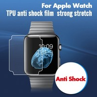 newest 2015 hot products screen protective film for Apple watch screen cover 38mm 42mm
