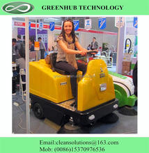 Quality products electric floor sweeper with CE certificate