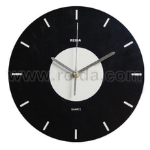 fashion quartz promotion wood home decoration wall clock