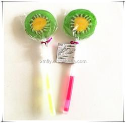 Glow stick fruits lollipop