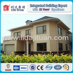 High Structural Stability Fast Building Villa prefab houses