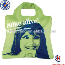 polyester wedding gift reusable shopping bag with logo