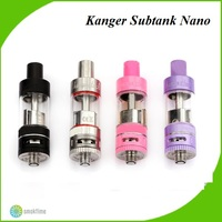 2015 Authentic KangerTech SUBTANK Nano Clearomizer with 3.0ml HUGE In Stock Sliver Kanger Subtank Nano