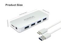 FORIDA Wholesale Mini Usb Hub Cute Port 4 Port USB 3.0 HUB