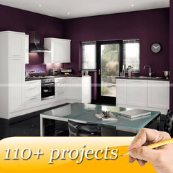 HOT Selling Customized Color Australia Kitchen Cabinets