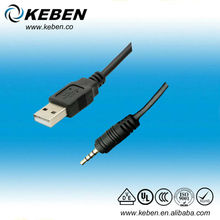 Cheap price usb 2.0 3.5 mm jack to usb cable
