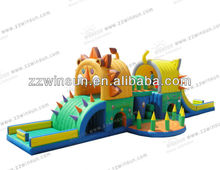 2014 Fun kids playground Lion and Tiger Castle