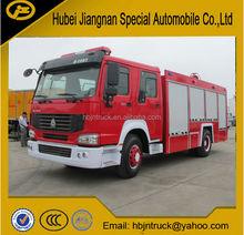 JDF5190GXFPM70Z Howo water foam fire truck