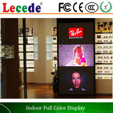 LECEDE P5 LED SCREEN advertising p5 energy saving good image indoor tv show led display