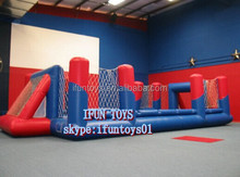 inflatable football court / inflatable football pitch for team / competitive soccer pitch inflatables