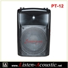 High Quality Sound Speakers Boxes with SD Card and USB PT-12