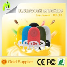 Mini bluetooth speaker with USB/TF Card/microphone display