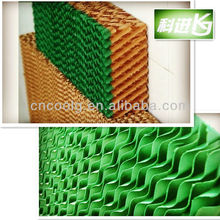 honeycomb evaporative water wet pad /cooling pad