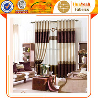 Spliced European Design Ethnic Curtains for Dining Room
