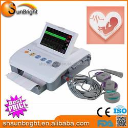 home and clinic use fetal doppler sunbright fetal/maternal heart monitor