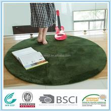 microfiber polyester round yoga mat manufacturer