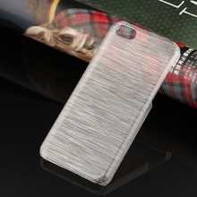 Wire Drawing back case cover for Iphone 5C PC hard Case