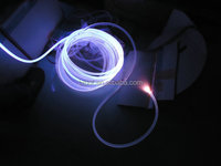 PMMA Side Emitting Fiber Optic Night Light