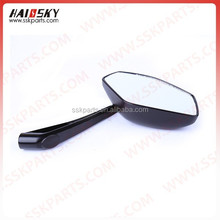 Hot sell style motorcycle accessory for Motorcycle rear view mirror factory direct sale