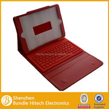 Wholesale colorful silicon bluetooth keyboard case, keyboard case for ipad air, wireless keyboard case for ipad air