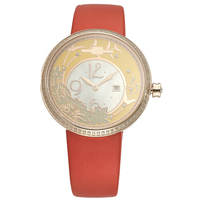 High quality cuatom logo vogue lady hand watch for women