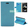 Gravel Texture Wallet Style PU Leather Case for Blackberry Z3