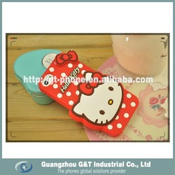 customize cartoon and hello kitty cute design mobile phone cover for iphone