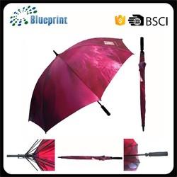 Golf umbrella printed,golf umbrella cheap,golf umbrella 8 ribs