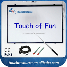 Cheap optical interactive smart board for education with multi language software available
