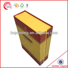 Bulk wine boxes Packaging with Gold Stamping for wine wholesale