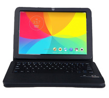 10 INCH Tablet Bluetooth Keyboard Case (BLACK)