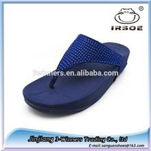 Moda sandalias de mujer zapatos con diamantes de imitación