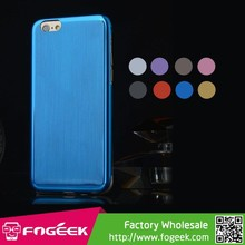 Soft TPU Gel Case w/ Dustproof Plug for iPhone 6 4.7inch
