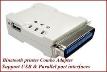 USB & Parallel port Bluetooth printer Combo adapter