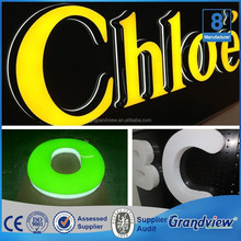 diy led dimensional letters advertising sign boards