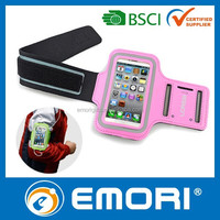 2015 newest PU case cover neoprene sports armband for iphone