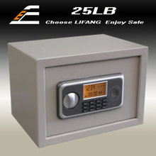 LCD display Shaking alarm function fireproof stainless steel home safes