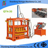 New QT4-30 small investment diesel hydraulic concrete block making machine price for business