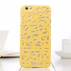 Hollow out hard pc case for iphone 6,Bird's Nest Hollow Out Design PC Hard Case for iPhone 6