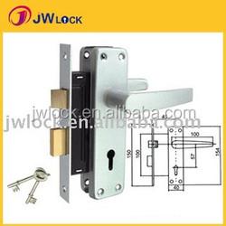 685 -24 Yale Anodised Finish Aluminium lever Handle lockset
